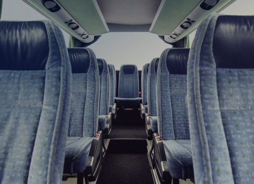 Textile coatings for mass transit and commercial vehicles